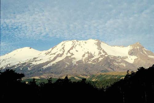 seen from Ohakune in January