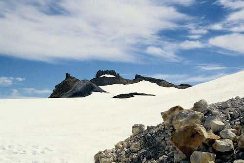 Crater plateau of Ruapehu