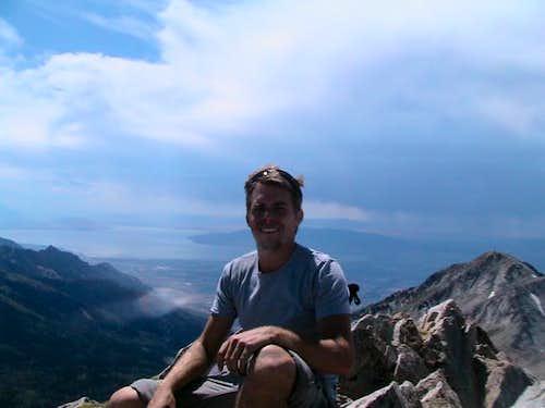 So this is Pat on the peak....