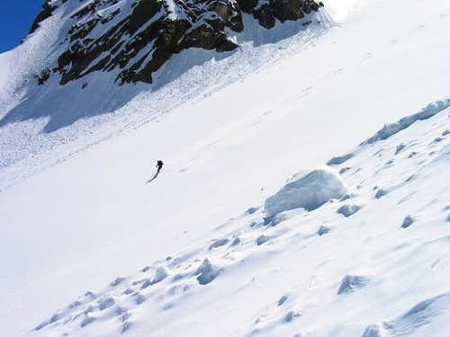 A skier at the downhill from...