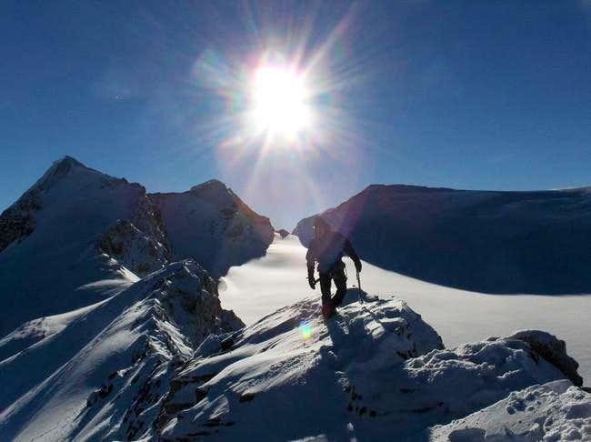 Ascent of St. Nicholas Peak,...