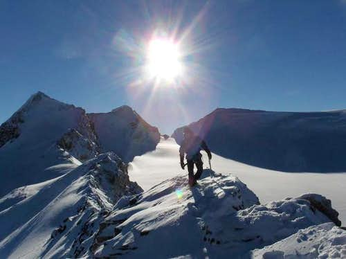 Ascent of St. Nicholas Peak,...