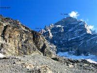 The Italian Ridge seen from...