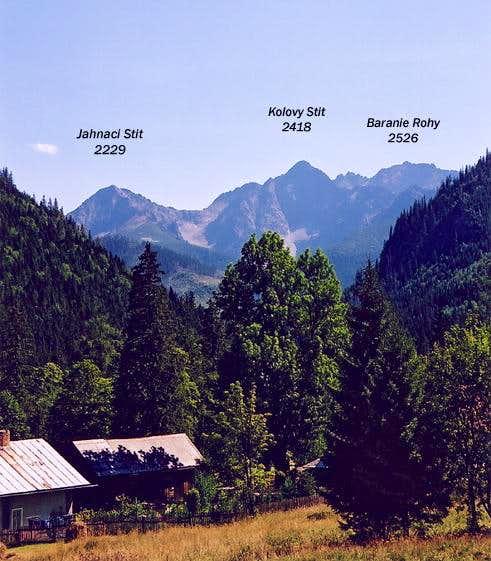 Jahnaci Stit peak viewed from...