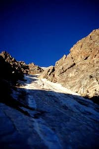 Unnamed couloir on the north face