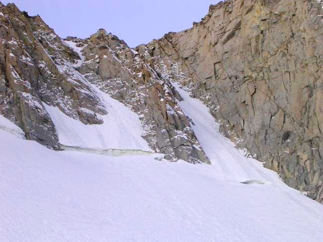 Central  Couloir on Mt.Thompson (Smrz Couloir)
