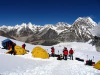 Picture taken from High Camp...