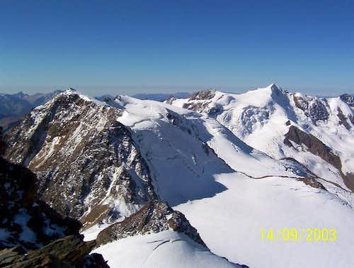 Landscape from Vioz summit