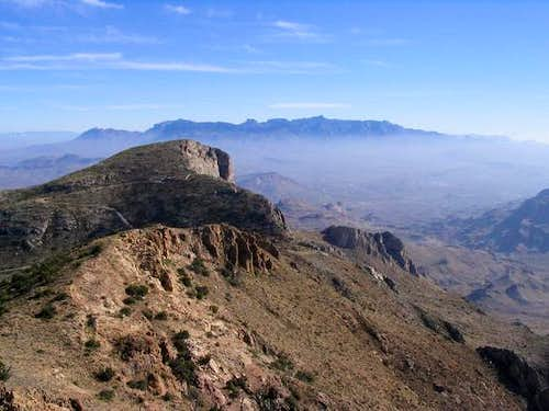 The Chisos Mountains as seen...