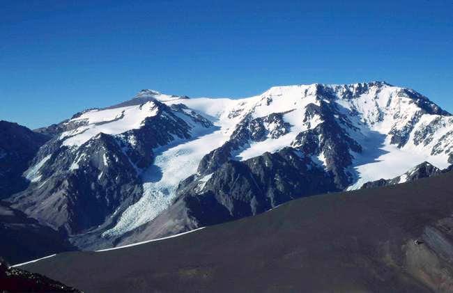 At the summit of Wanda Peak –...