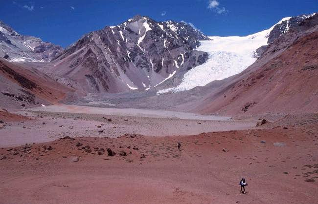 Ascent to Alma Negra in the...