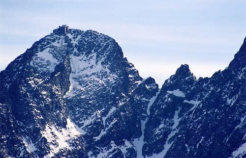 Lomnica Peak(2632) viewed...