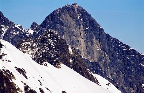 Lomnica(2632) - West Face...