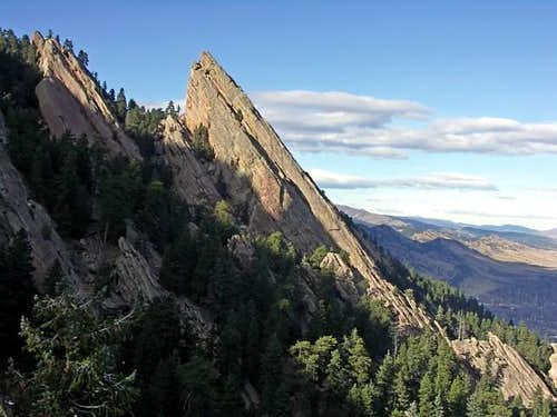 The South Face of the Third Flatiron