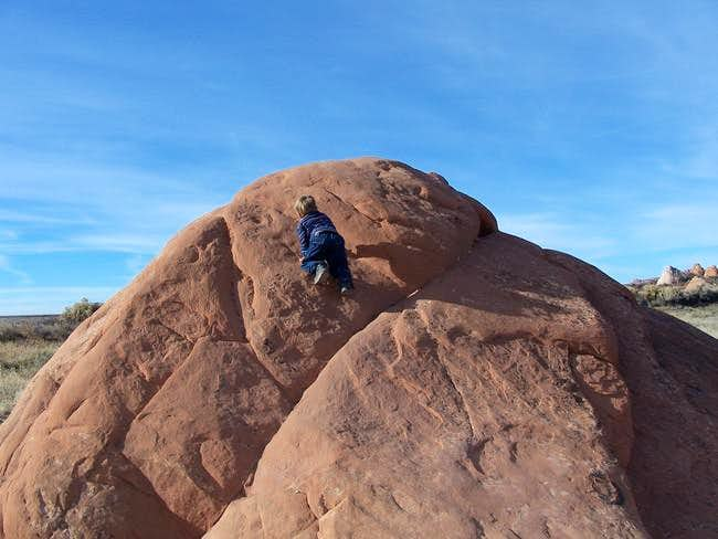Three year old Kessler wants...