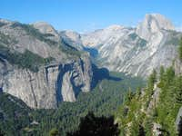 Half Dome from the Five Mile...