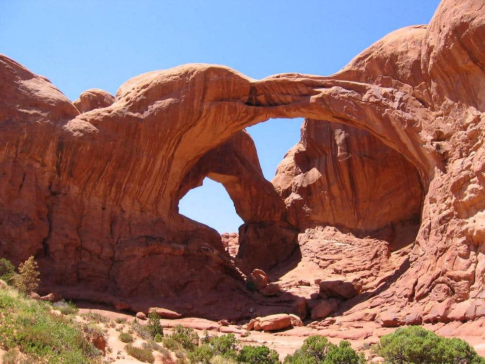 Double arches on 104 degree...