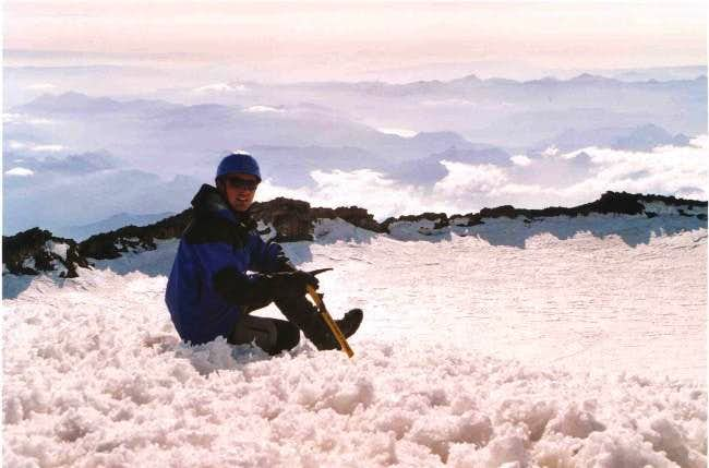 Au sommet du mont rainier, 25...