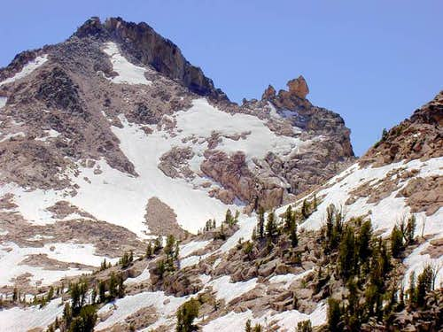 The Sawtooth Crest with the...