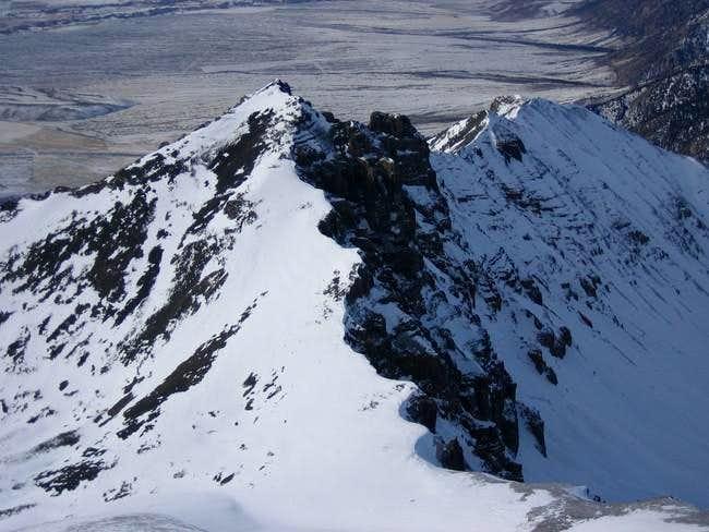 Little Mac's East ridge from...