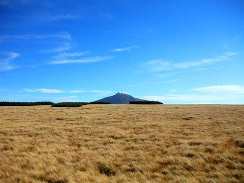 The Snezka massif seen from...