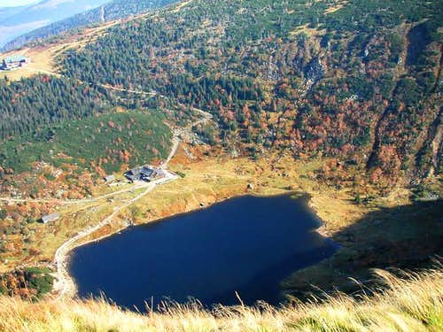 The Small Lake situated in...