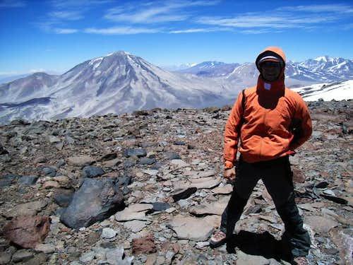 Summit of San Francisco, 6040m.