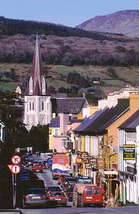 The Small town of Kenmare...