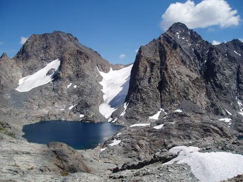 View of Mt. Ritter and Banner...