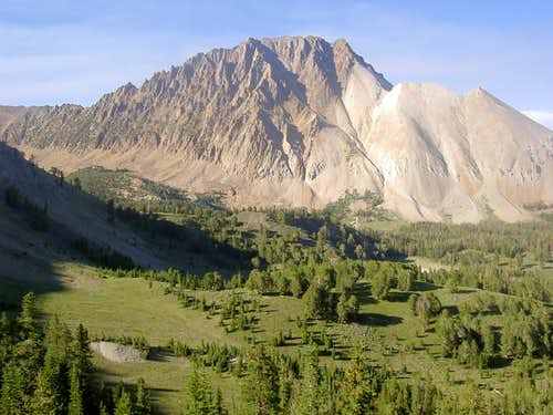 Castle Peak\'s south side from...