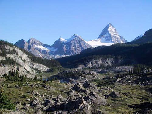 Mount Assiniboine seen from...
