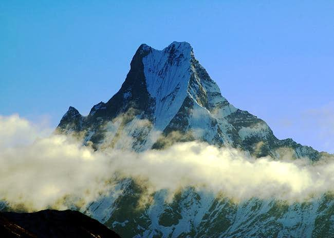 Machhapuchare from Poon Hill....