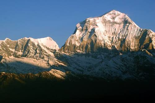 Dhaulagiri from Poon Hill....