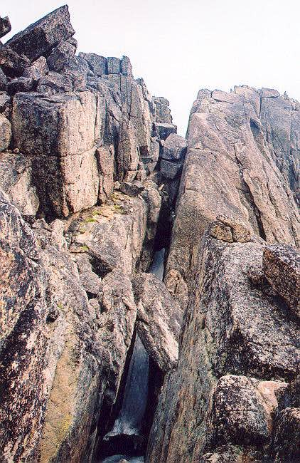 View of the famed chasm near...