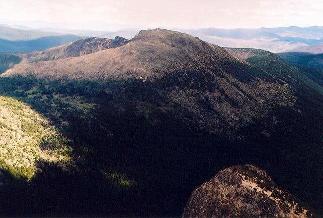 Apex Mountain (8,297 ft) to...