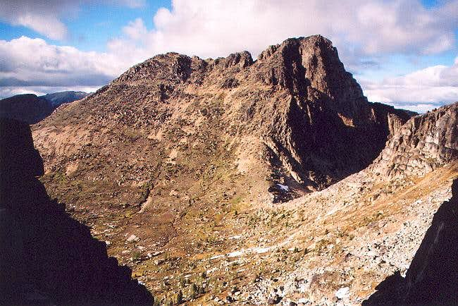 Cathedral Peak from the south...