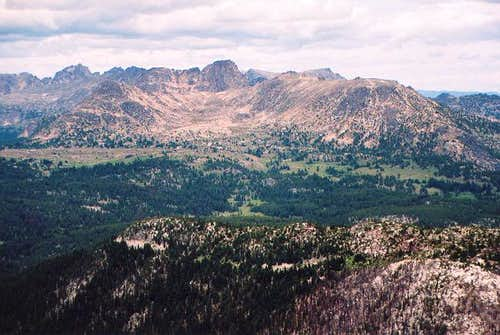 Amphitheater Mountain from...