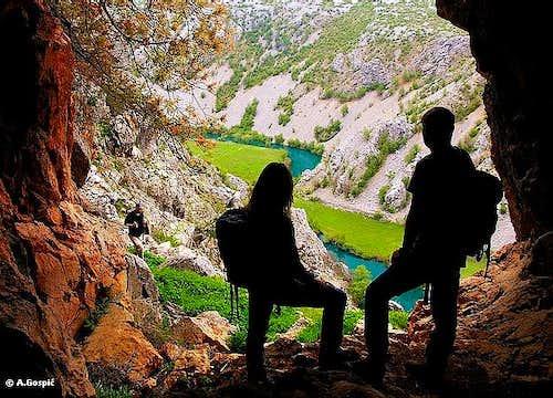 Krupa river canyon