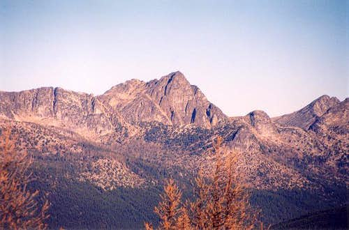 Cathedral Peak from Cal Peak...