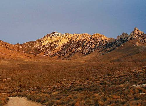 Owens Peak at dawn from...