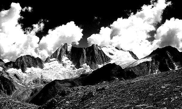 from left: cima Presanella,...