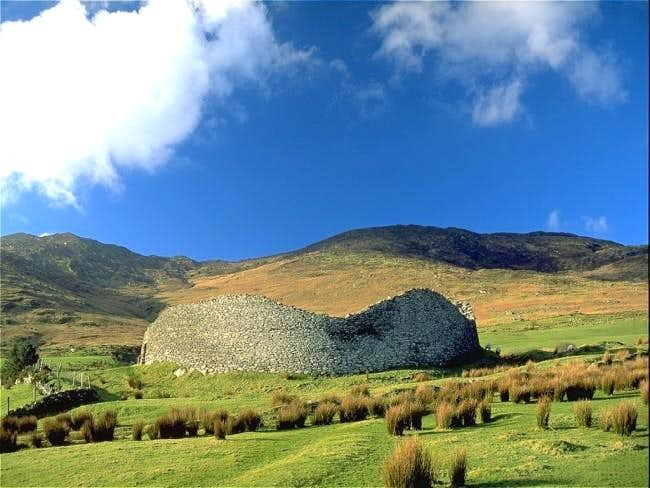 Celtic Ring fort in Kerry.