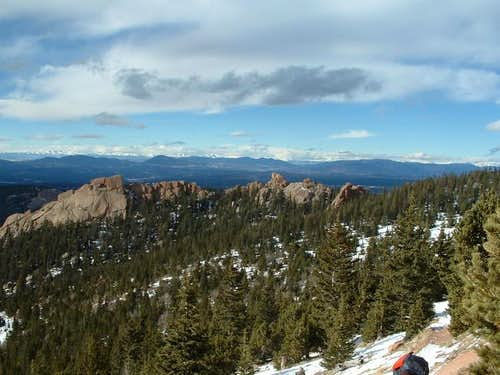 Beatiful mountains from Crags...