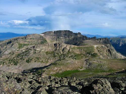 Watanga Mountain . Easy west...