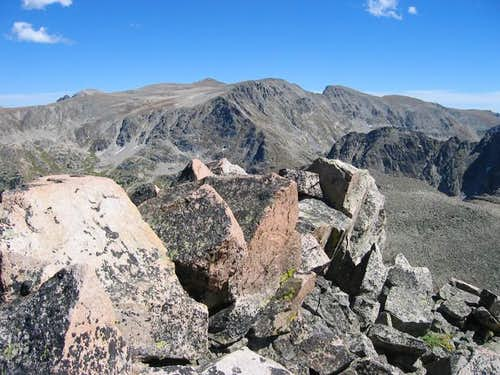 Ogallala Peak from the...