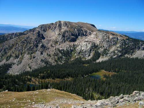 Twin Peaks from Watanga...