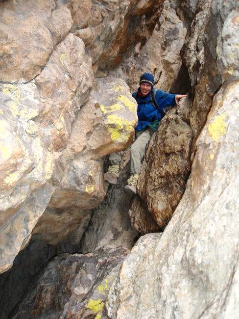 CP's crack-cave on the west...