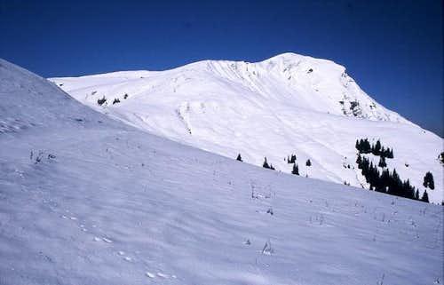 Juifen (1988 m), snowed in in...
