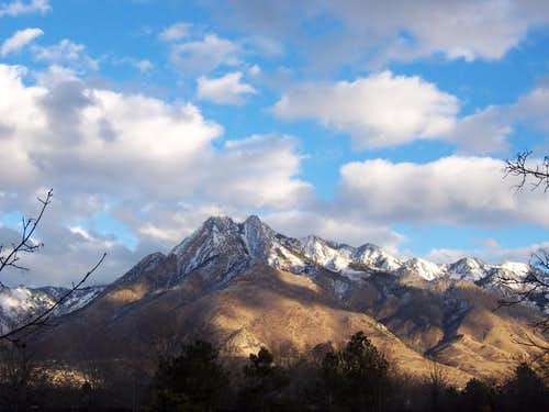 Mount Olympus from Salt Lake...