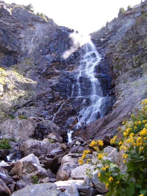 The Skakavica waterfall is...